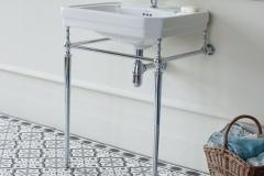 Burlington Bathrooms Victorian with washstand